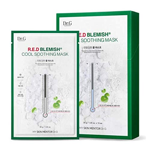 [Dr.G] R.E.D Blemish Cool Soothing Mask 10ea 30g