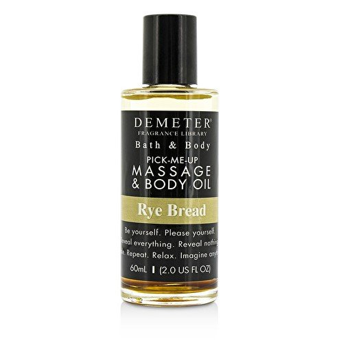Demeter Rye Bread Massage & Body Oil 60ml/2oz