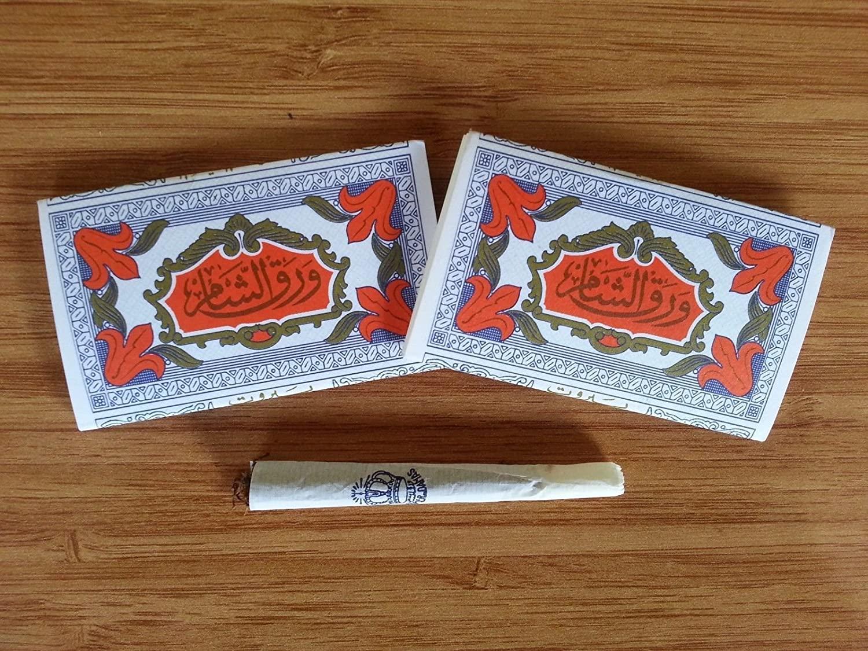 Arabic Hand Rolling Paper (Natural Cotton,No Gum) (90)