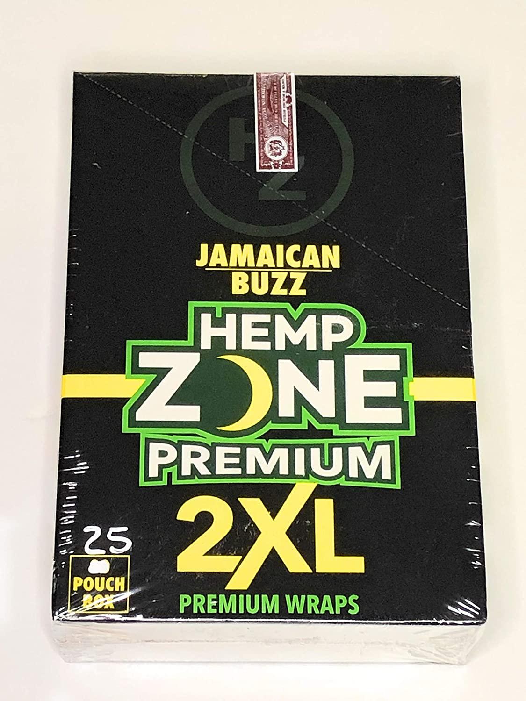 Free Gifts if u Buy Jamaican Buzz Hemp Zone Premium 2XL 50 Hemp Wraps 25 Packs 1SolarDeals
