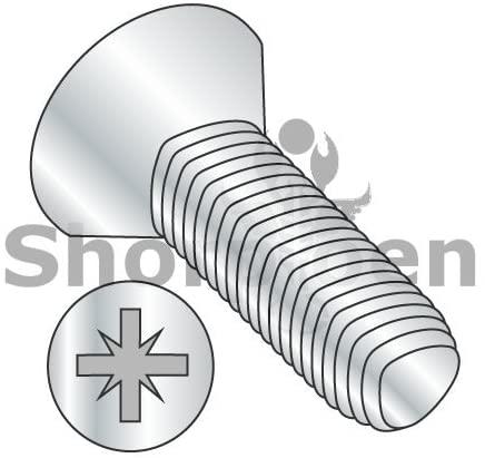 M2.5-0.45X10 Din 7500 M Metric Type Z Flat Thread Rolling Screw Zinc Bake Wax - Box Quantity 1500 by Shorpioen BC-M2.510D7500M