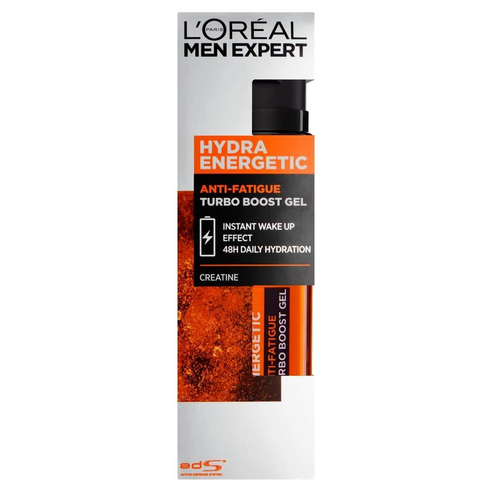 L'Oreal Paris Men Expert Hydra Energetic Anti-Fatigue Creatine Recharging Moisturiser, 50 ml