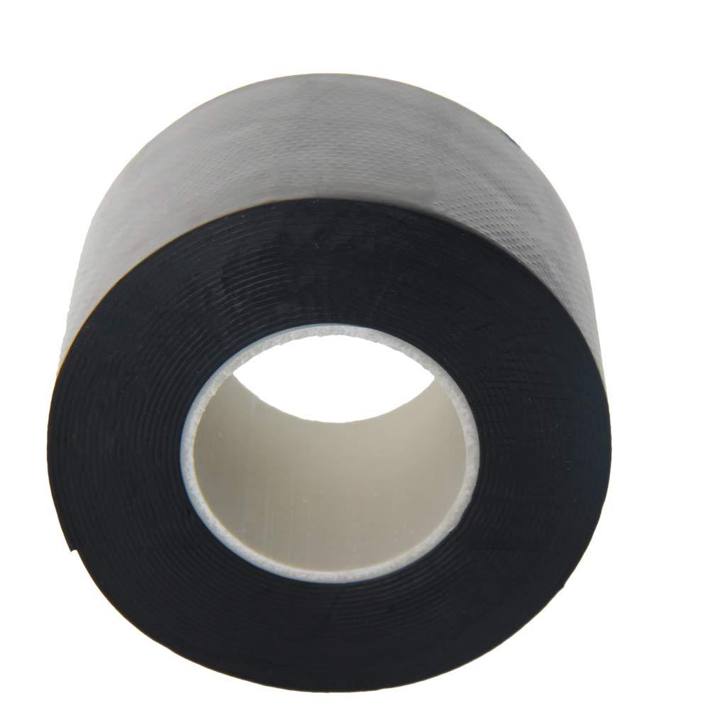 Fielect Insulating Tape,PVC Electrical Tape, Single Sided,22mm Width, 5m Long,Black JR-307 1Pcs