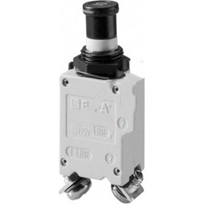 E-T-A Circuit Protection and Control 483-G533-J1M1-B2S0ZN-15A , Circuit Breaker; Therm; Push/Pull; Cur-Rtg15A; Panel; 1 Pole; Vol-Rtg 115/28VAC/VDC