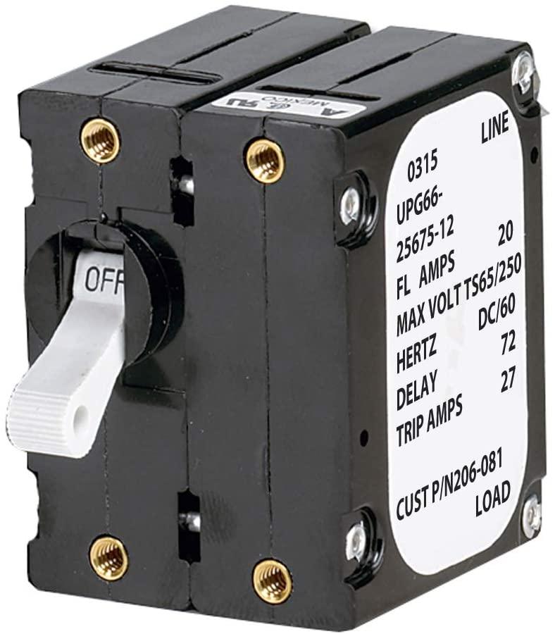 Paneltronics A Frame Magnetic Circuit Breaker - 40 Amps - Double Pole (29822)