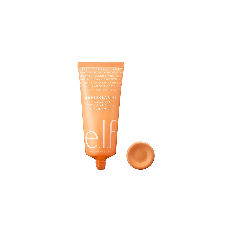 e.l.f. Superclarify Cleanser Foaming Gel Face Wash, 3.4 Fl Oz