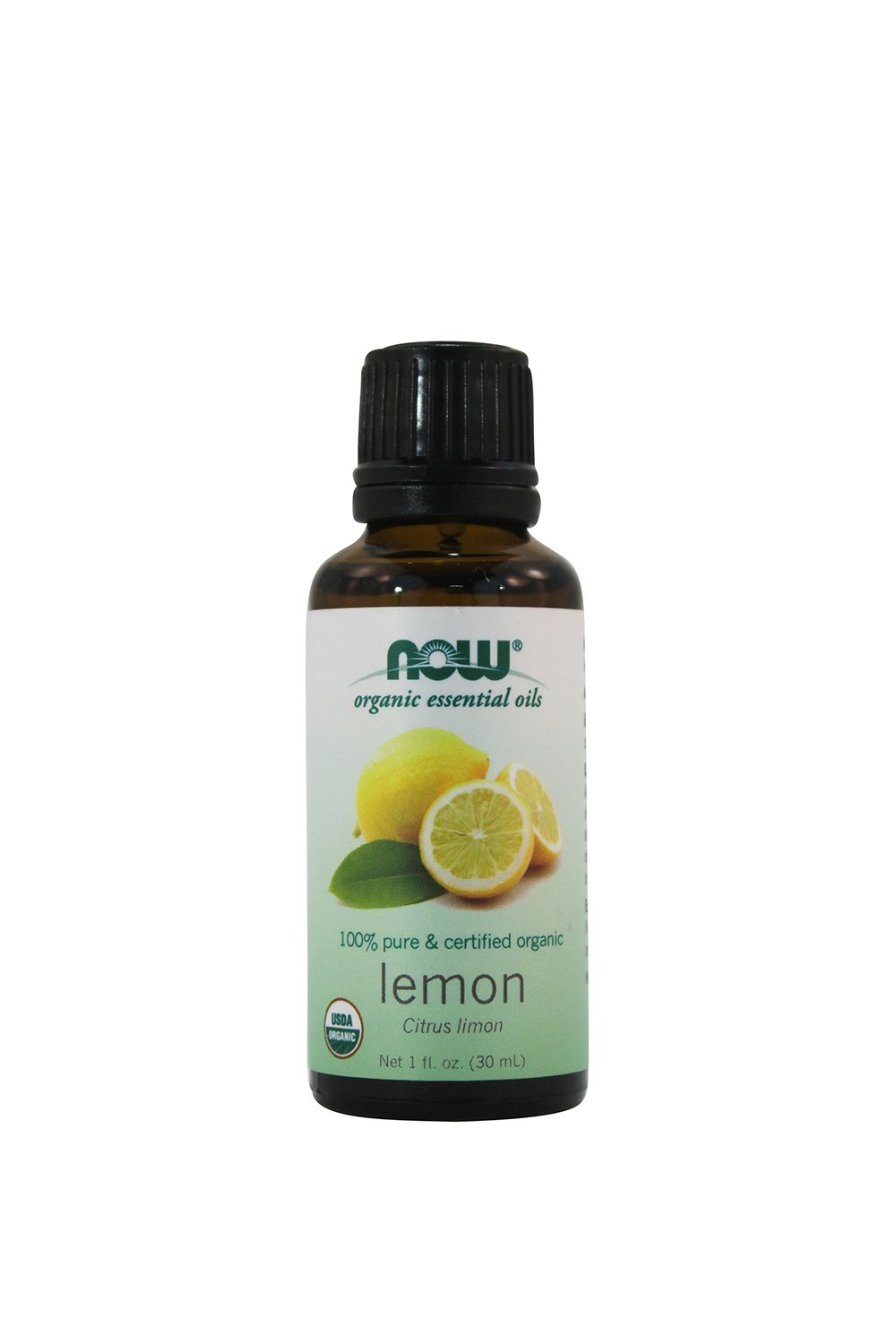 NOW Foods Organic Essential Oils Lemon - 1 fl oz