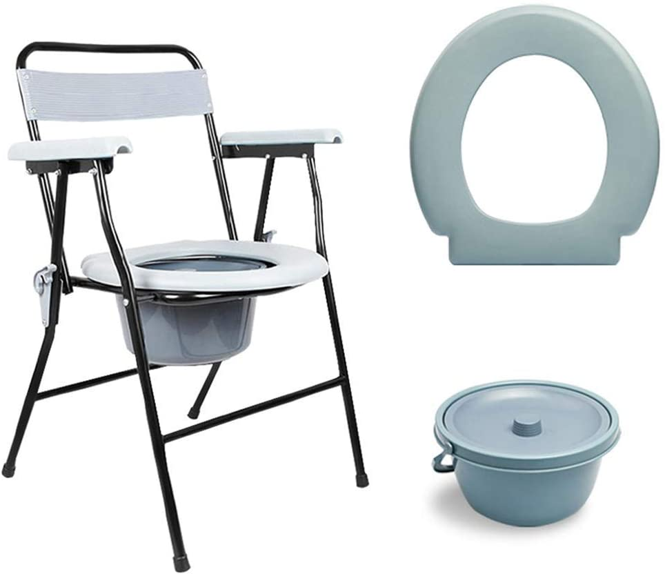 CSS Mobile Bedside Toilet Chair | Non-Slip Bathroom | Portable Toilet Chair | Advanced, Surgical Rehabilitation, Disabled