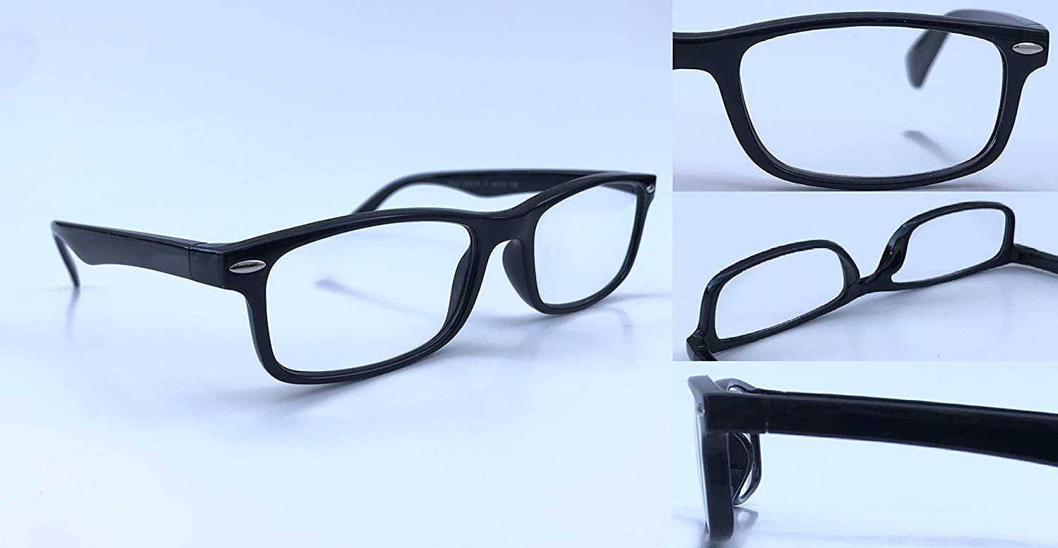 NEARSIGHTED Glasses for Seeing Distance Myopia Black Negative Minus Power -1.25