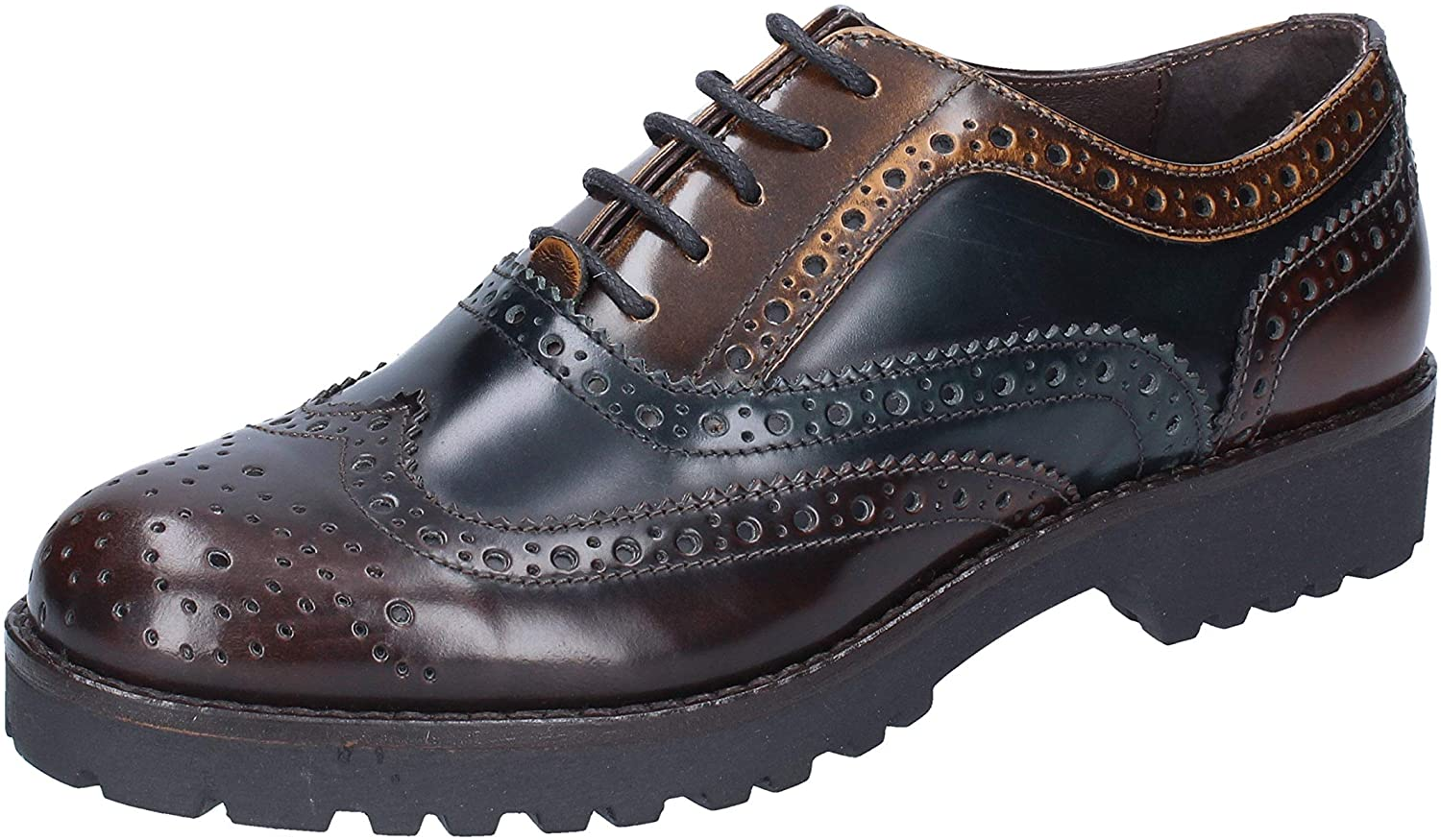 Mally Oxfords-Shoes Womens Leather Brown
