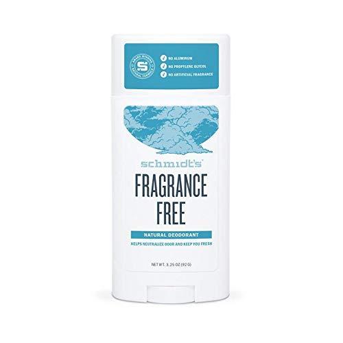 Schmidt's Natural Deodorant Fragrance-Free Deodorant 3.25 oz (Pack of 3)