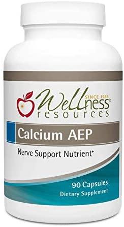 Calcium AEP for Nerves, Cell Membranes (925mg Ca-2-AEP Per Capsule, 90 Capsules)