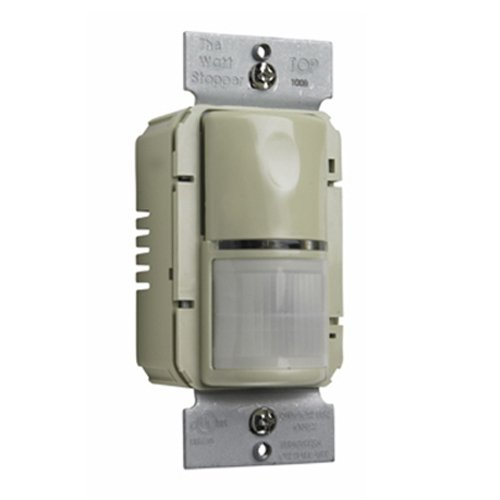 Pass and Seymour WSP250I Passive Infrared Wall Switch Sensor, Ivory
