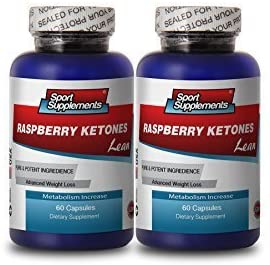 Weight Loss Energy - Raspberry Ketones Lean 1200MG - Raspberry Ketone Extract - 2 Bottles (120 Capsules)