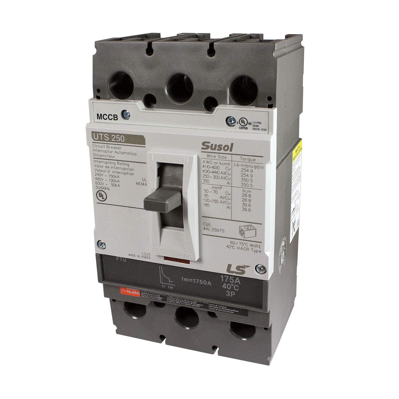 ASI UTS250N-FTU-225-3P-LL-UL Molded Case Circuit Breaker