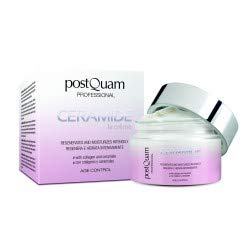 POSTQUAM Ceramide Cream 50ml – Skin Care – Daily Use - Moisturizing And Regenerating Day Cream - Anti-Aging Effect - Providing Instant Freshness – Renew The Skins Natural Barrier - Active Ingredients