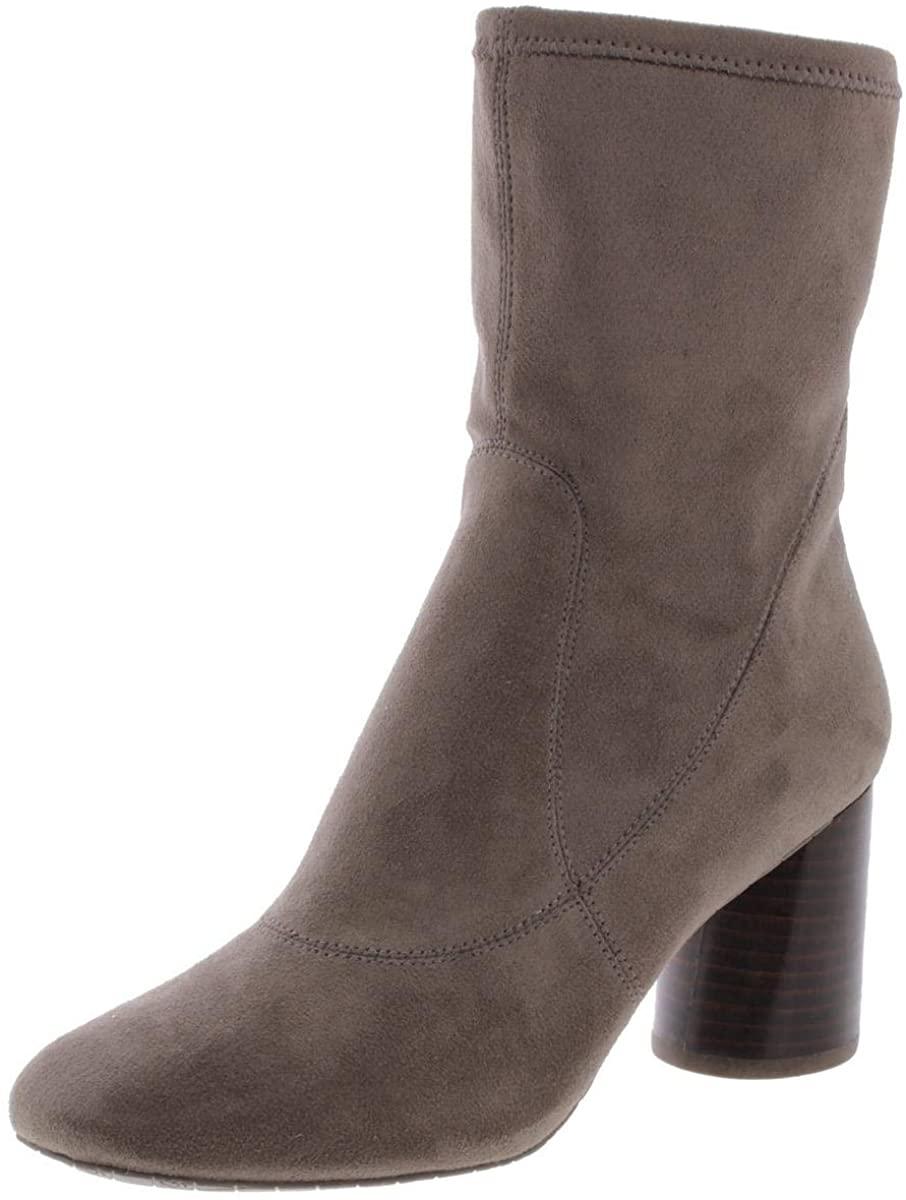 Donald J Pliner Womens Gisele 2 Fabric Almond Toe Ankle Fashion, Brown, Size 6.5
