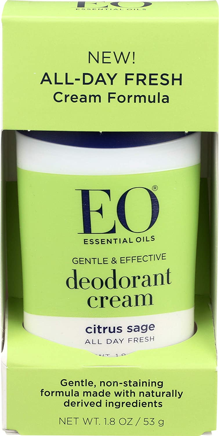 EO Citrus Sage Cream Deodorant, 1.8 OZ