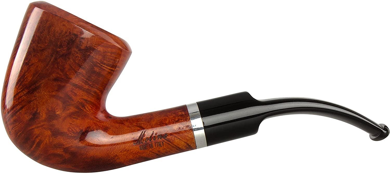 Molina Barasso Brilliant 103 Tobacco Pipe - Bent Dublin