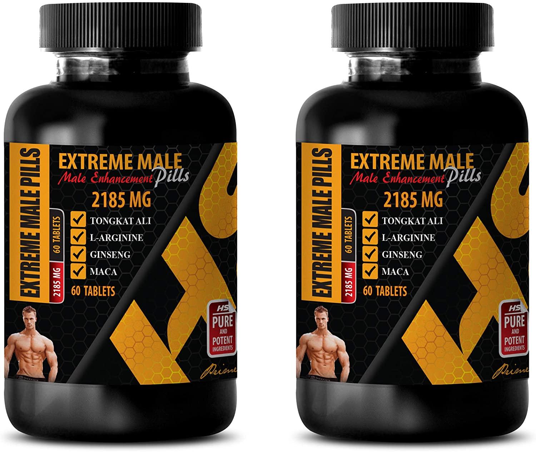 libido max for Men - Extreme Male Enhancement Pills - longjack Extract supplemets - 2 Bottles 120 Tablets