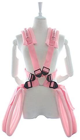Lement Adjustable Straps BDSMS Restraints Kit Pink