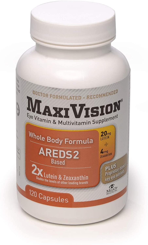 MedOp MaxiVision® Whole Body Formula - 120 Capsules, 1 Bottle