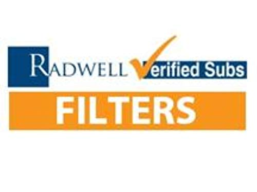 RADWELL VERIFIED SUBSTITUTE DT9020414UM-SUB Pressure LINE Hydraulic Filter Cartridge, Filter, Replacement for Donaldson DT9020414UM Filter