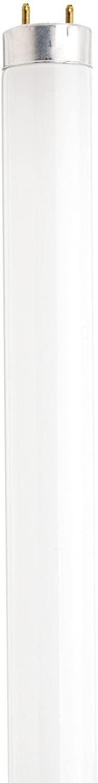 Satco S8405 24-Inch 3500K 17-Watt Medium Bi Pin T8 Instant/Rapid Start Energy Saving Lamp, Neutral White