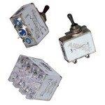 Sensata/AIRPAX, AP7-1-52-103, Circuit Breaker Hydraulic Magnetic 1Pole 10A 240VAC