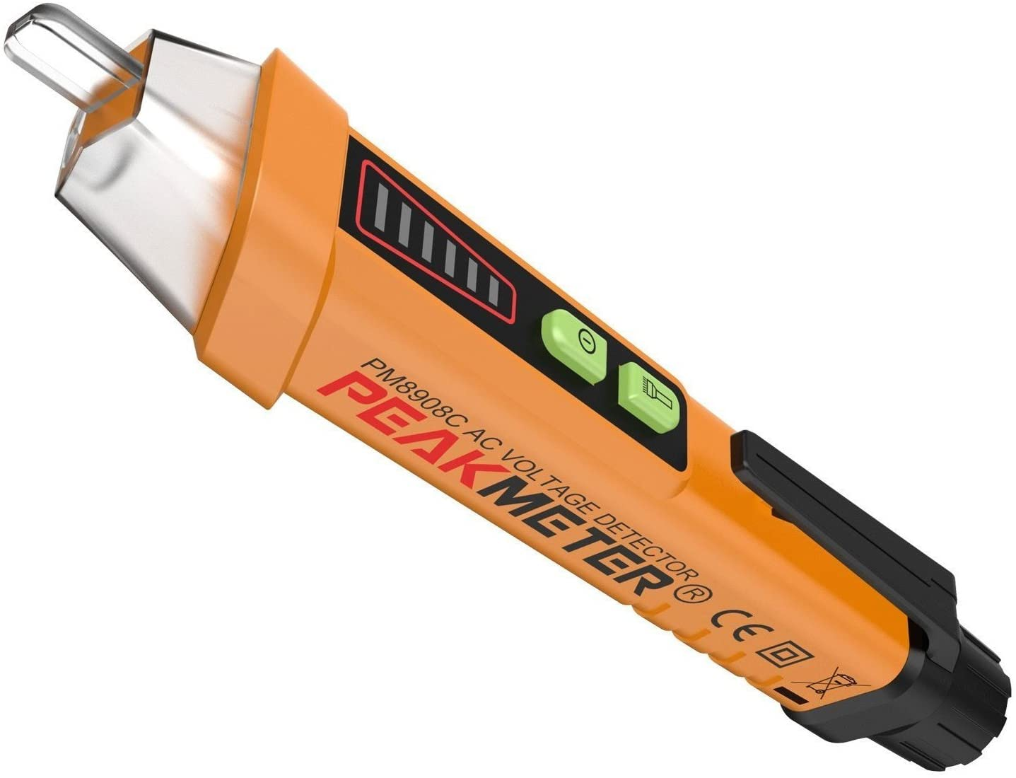 PriceBustr - Non Contact Voltage Detector, 12v-1000V AC Voltage Tester Pen & LED Flashlight by PriceBustr