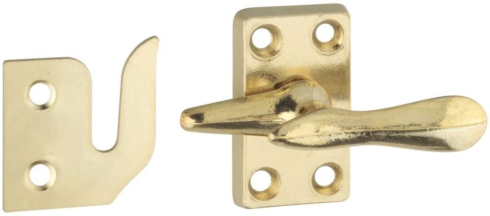 National Hardware N216-127 V1978 Casement Fastener in Solid Brass