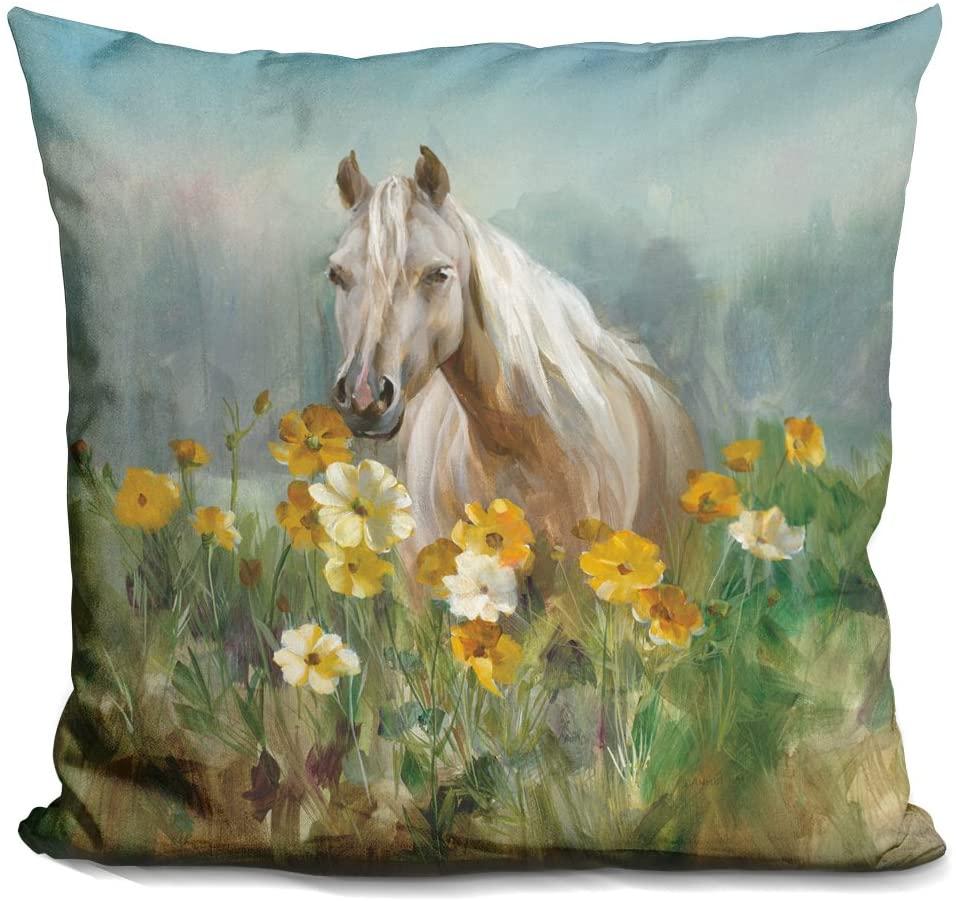 LiLiPi Farm and Field Ii Decorative Accent Throw Pillow