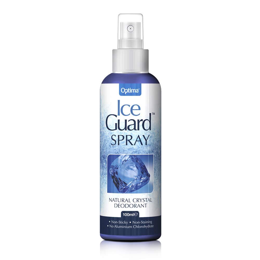 Ice Guard Natural Crystal Deodorant - Spray 100ml