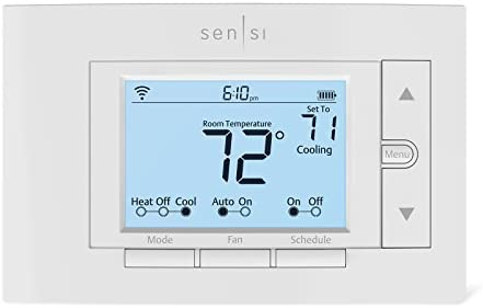 Emerson Sensi Wi-Fi Thermostat for Multiple Thermostat Manager, 6-pack, DIY Version