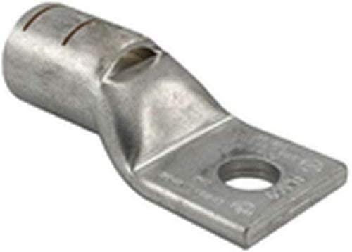 Penn-Union BLU2S10, Cu Compress. Lug Std Barrel 1 Hole w/Inspect. Window 2 AWG 1/2