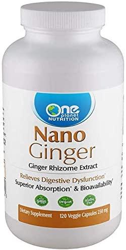 Nano Ginger - 120 Caps - 250 mg