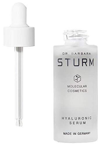 Dr. Barbara Sturm Hyaluronic Serum - Concentrated Face Moisturizer with Purslane + Low and High Weighted Hyaluronic Acid Molecules for Deep, Instant Hydration (30ml)