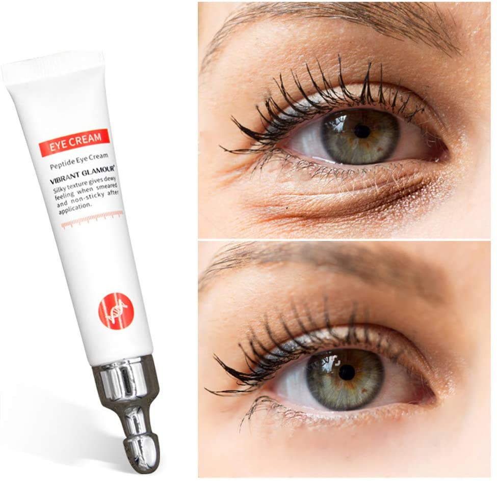 Magic Anti-Age Eye Cream, Anti-Wrinkle and Firming Eye Cream, Cayman Eye Cream for Wrinkles, Crows Feet, Fine Lines, Dark Circles, Puffiness - Skin Torecover Fineness and Smoothness (1pc)