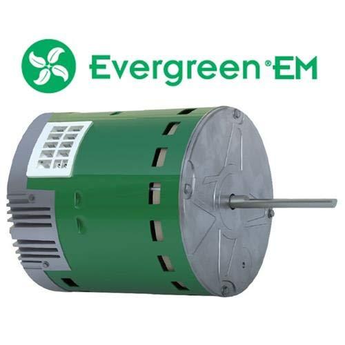 Rheem 51-101879-02 • Genteq Evergreen 1/3 HP 230 Volt Replacement X-13 Furnace Blower Motor