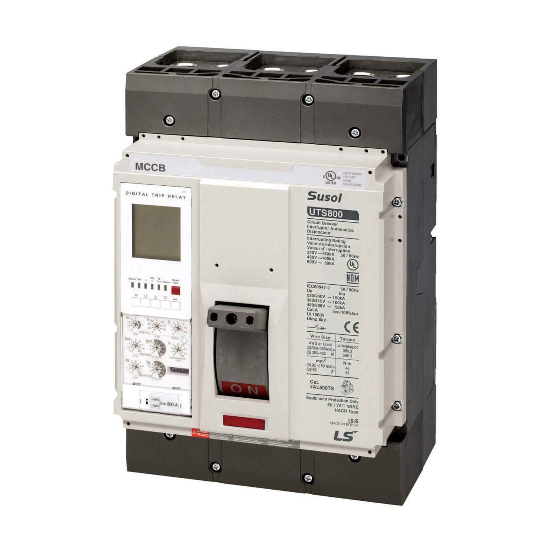 ASI UTS800N-NGO-400-3P-LL-UL Molded Case Circuit Breaker