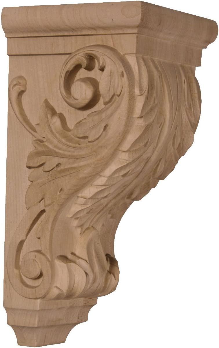 Ekena Millwork CORW05X05X10ACMA-CASE-6 Corbel, Factory Primed