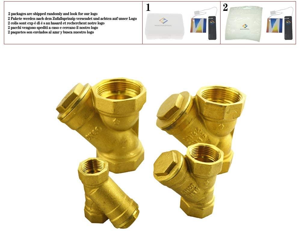 BSP 1/2'' 3/4'' 1'' 1-1/4''1-1/2'' 2'' Female Inline Y Mesh Strainer Threads Filter Brass filter valve,DN15