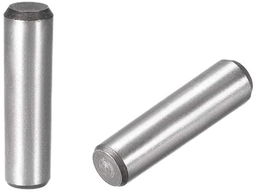 uxcell Carbon Steel GB117 40mm Length 10mm X 10.8mm Small End Diameter 1:50 Taper Pin 2Pcs