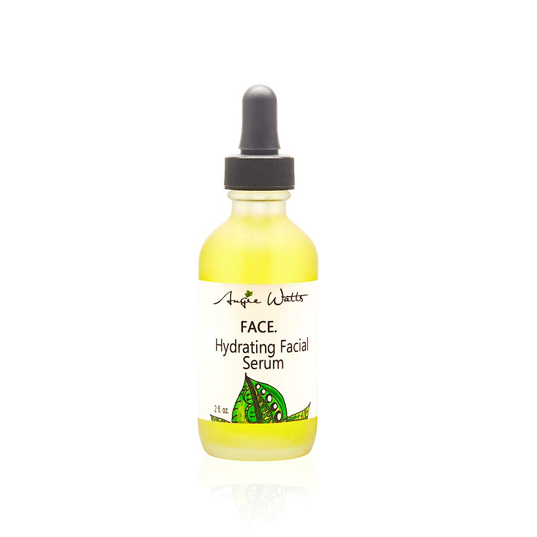 FACE. Hydrating Facial Serum, 2oz - All Natural and Organic Ingredients | 100% Vegan | Ultra Hydrating | Fragrance-free | Formulated with Luxury Beauty Oil, Marula