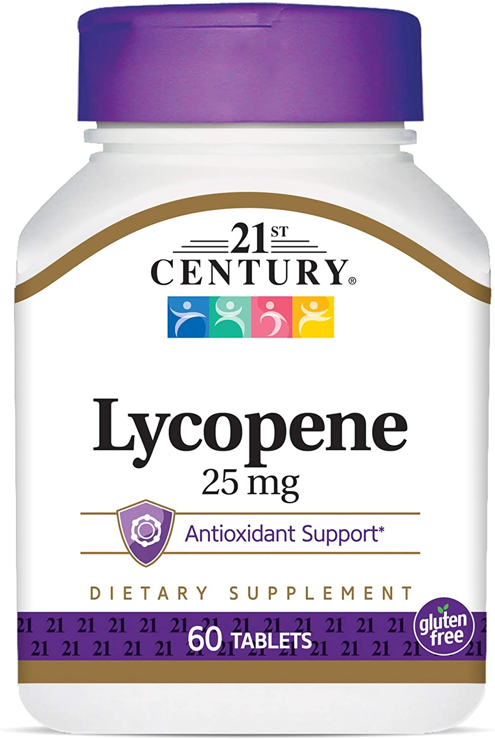 21st Century Lycopene 25 mg Tablets, 60 Count