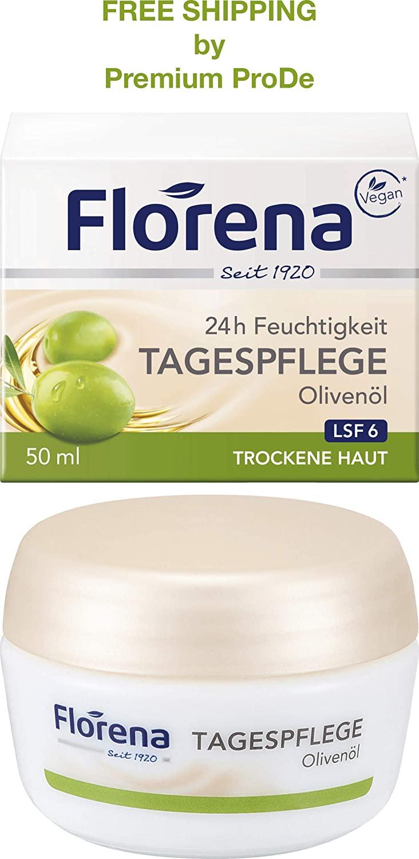 Florena - Day cream Olive Oil 50 ml, Germany