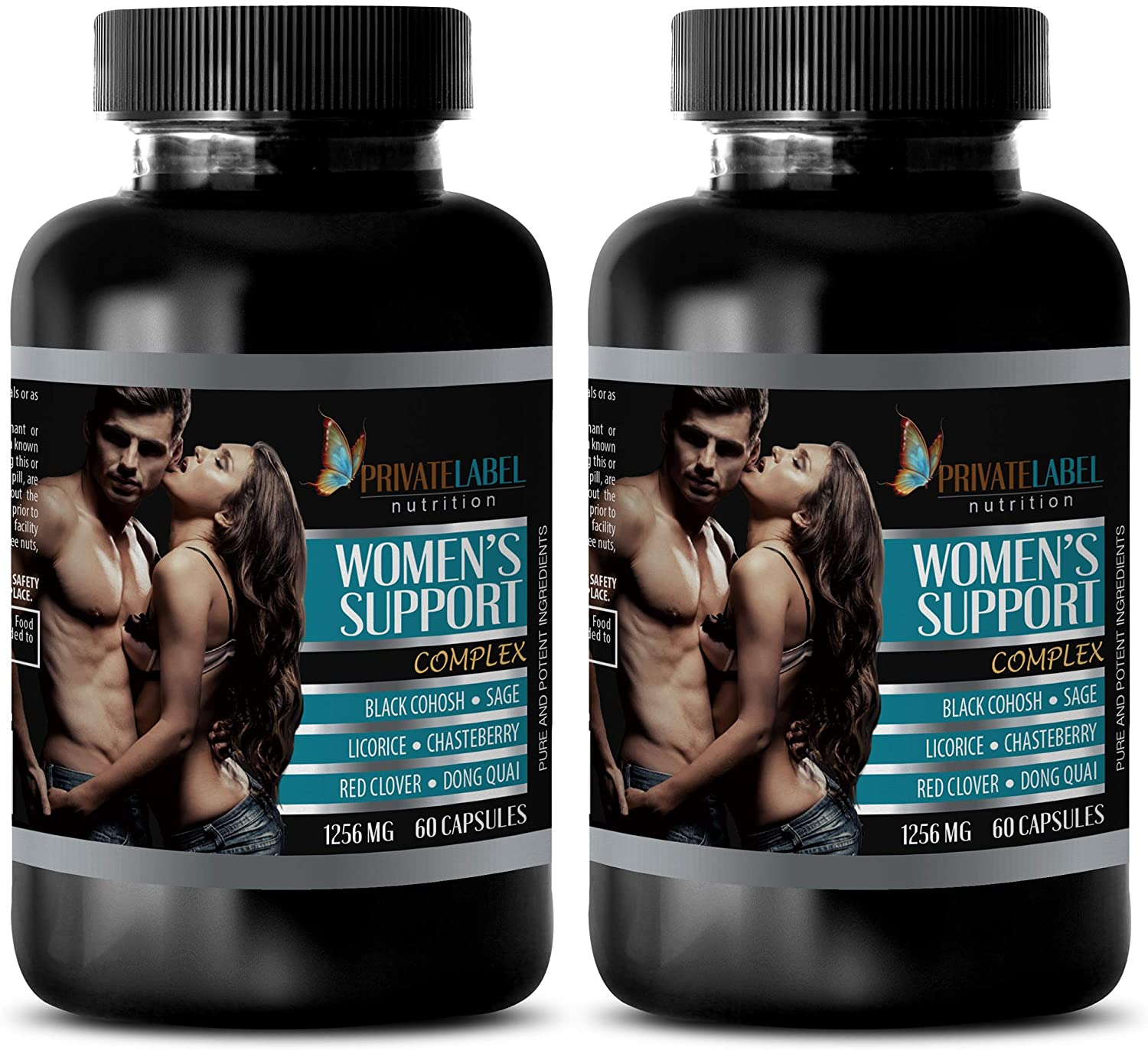 Blood Pressure Diet - Women's Support Complex - Pure and Potent Ingredients - Dong quai Root Capsules - 2 Bottles (120 Capsules)