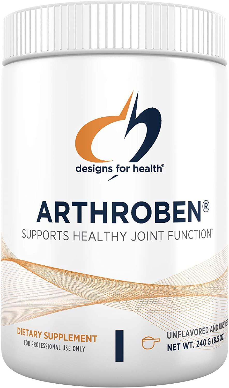 Designs for Health Arthroben Unflavored/Unsweetened - Collagen Peptide Powder + Flavonoids (30 Servings / 240g)