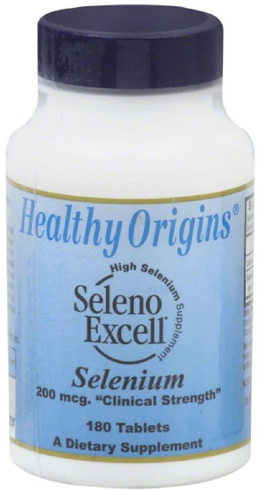 Healthy Origins Seleno Excell Selenium 180 Tab
