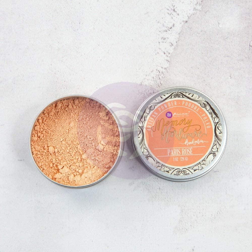 Prima Marketing Memory Hardware Artisan Powder 1oz-Paris Rose